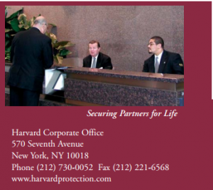 Image from the Harvard Protection Brochure by Market it Write