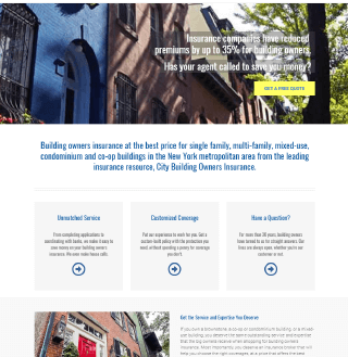 City Building Owners Website Content Project  by Market it Write